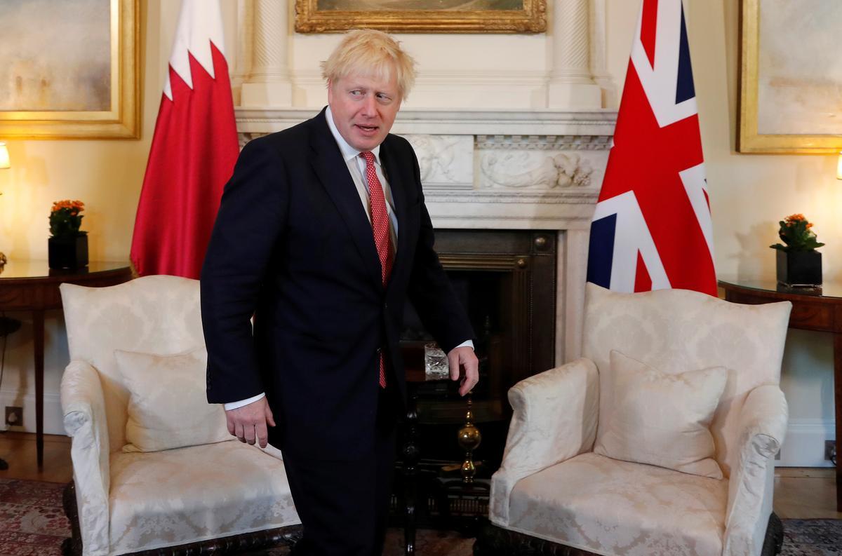 UK glo dat Iran agter Saoedi-olie-aanvalle was: premier Johnson