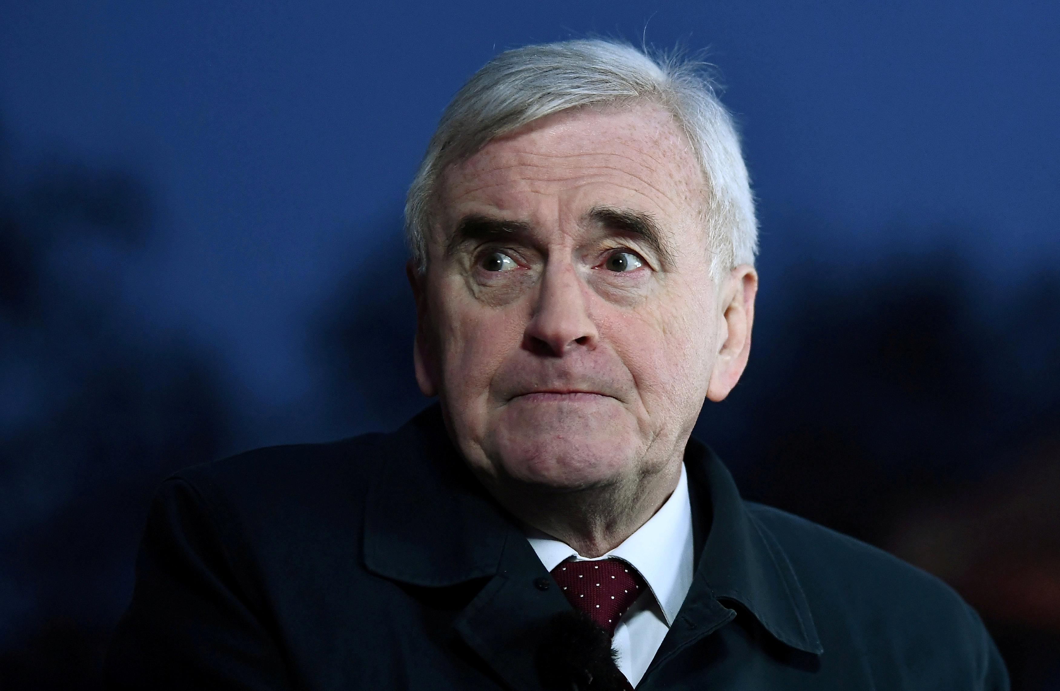 Labour's McDonnell says Thomas Cook bosses should pay back bonuses