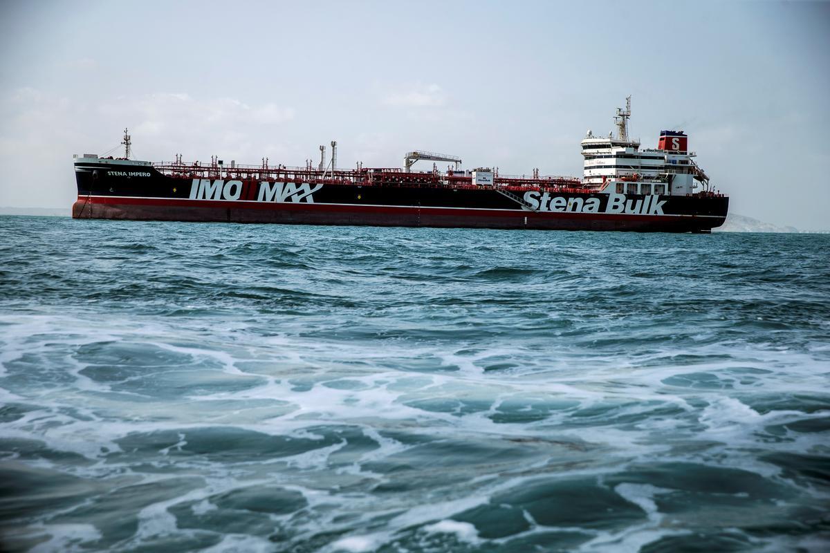 Die Britse tenkskip Stena Impero vertrek vry: Iran-ambassadeur in die Verenigde Koninkryk