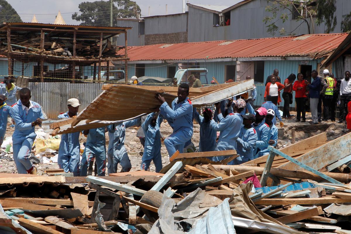 Kenia se ineenstorting in die klaskamer dood sewe kinders, 64 beseer