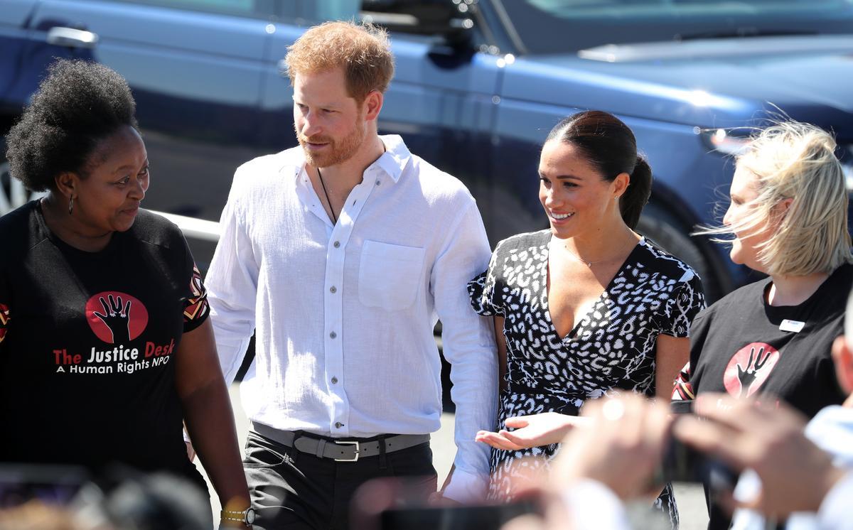 Die Brit en Harry en Meghan in Suid-Afrika op die eerste toer sedert die geboorte van die baba