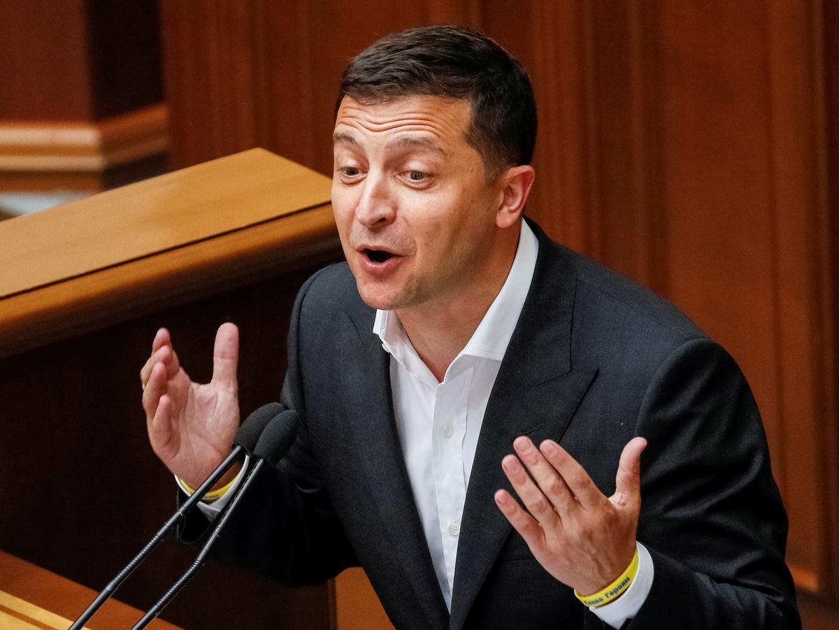 Oekraïne wil buite die Amerikaanse binnelandse politiek bly: presidentsamptenaar