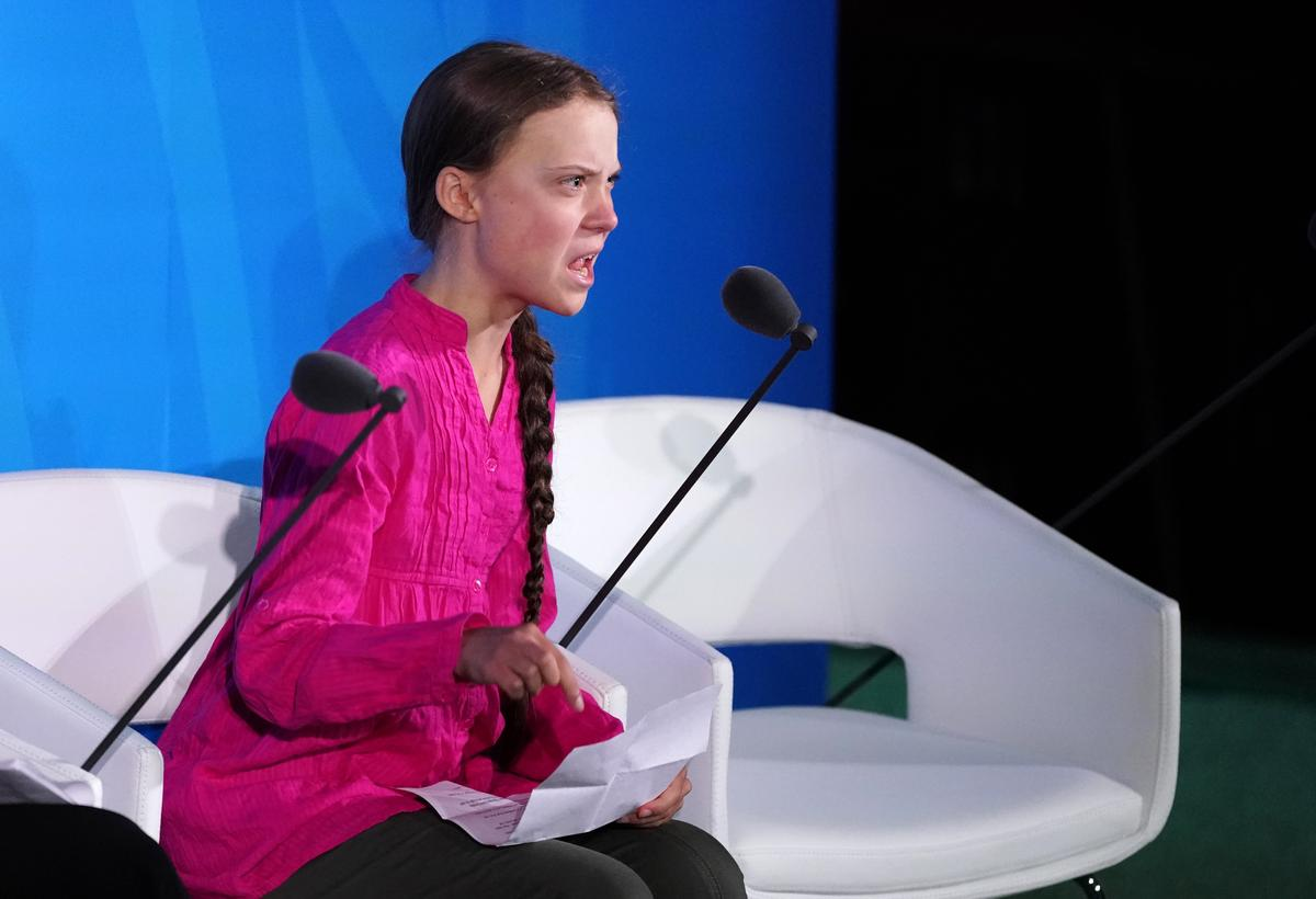 Greta Thunberg na die klimaatberaad van die VN: 'jy het my drome gesteel'
