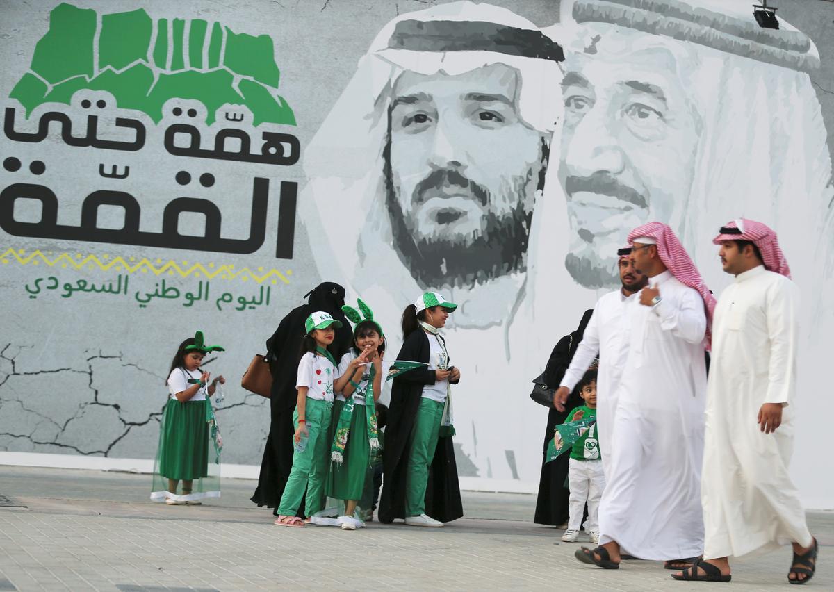 Saoedi-projek besluit, militêre mag na Aramco-aanval flits