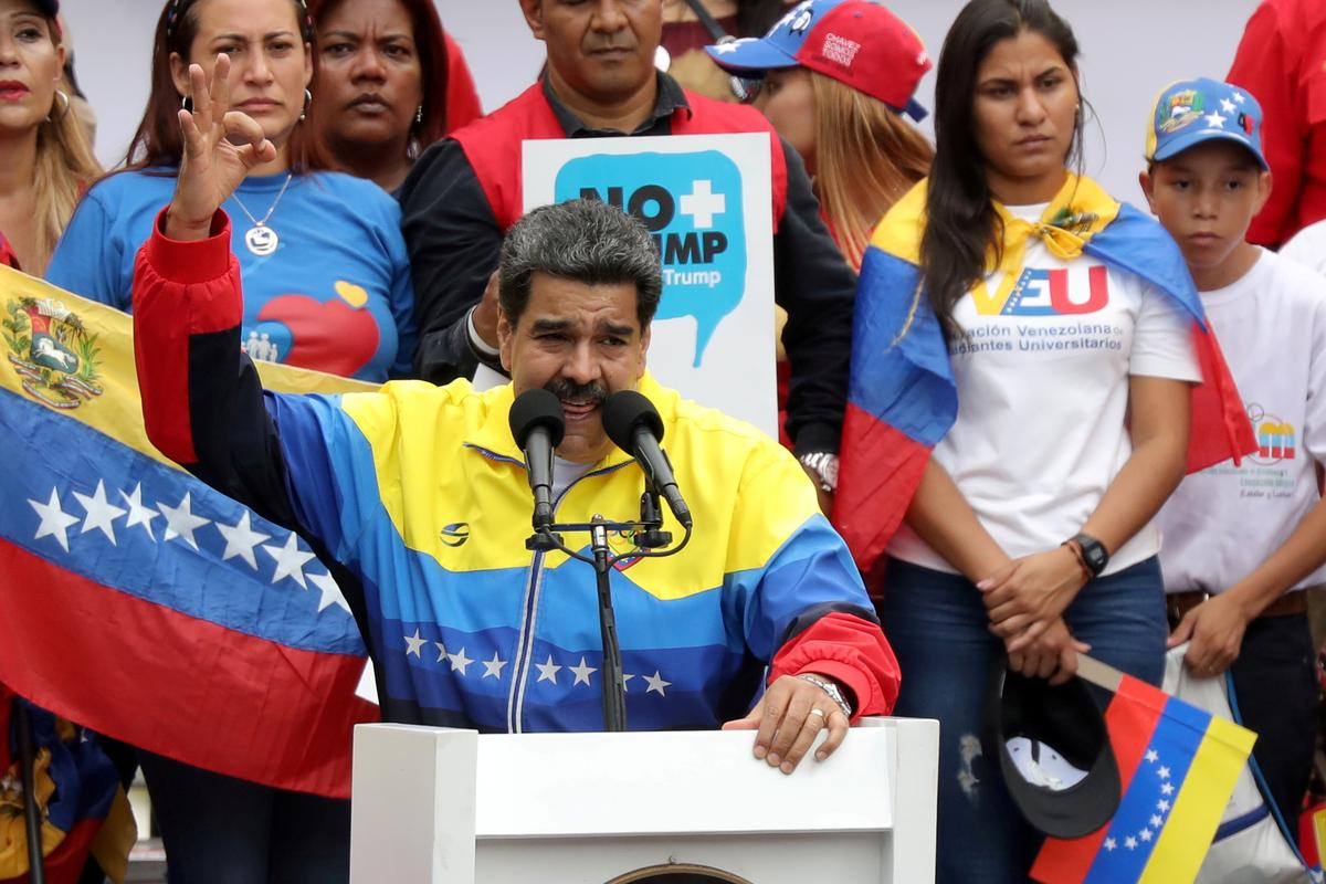 Latamse bure wat bereid is om sanksies op die Maduro van Venezuela te gebruik, maar nie van krag nie