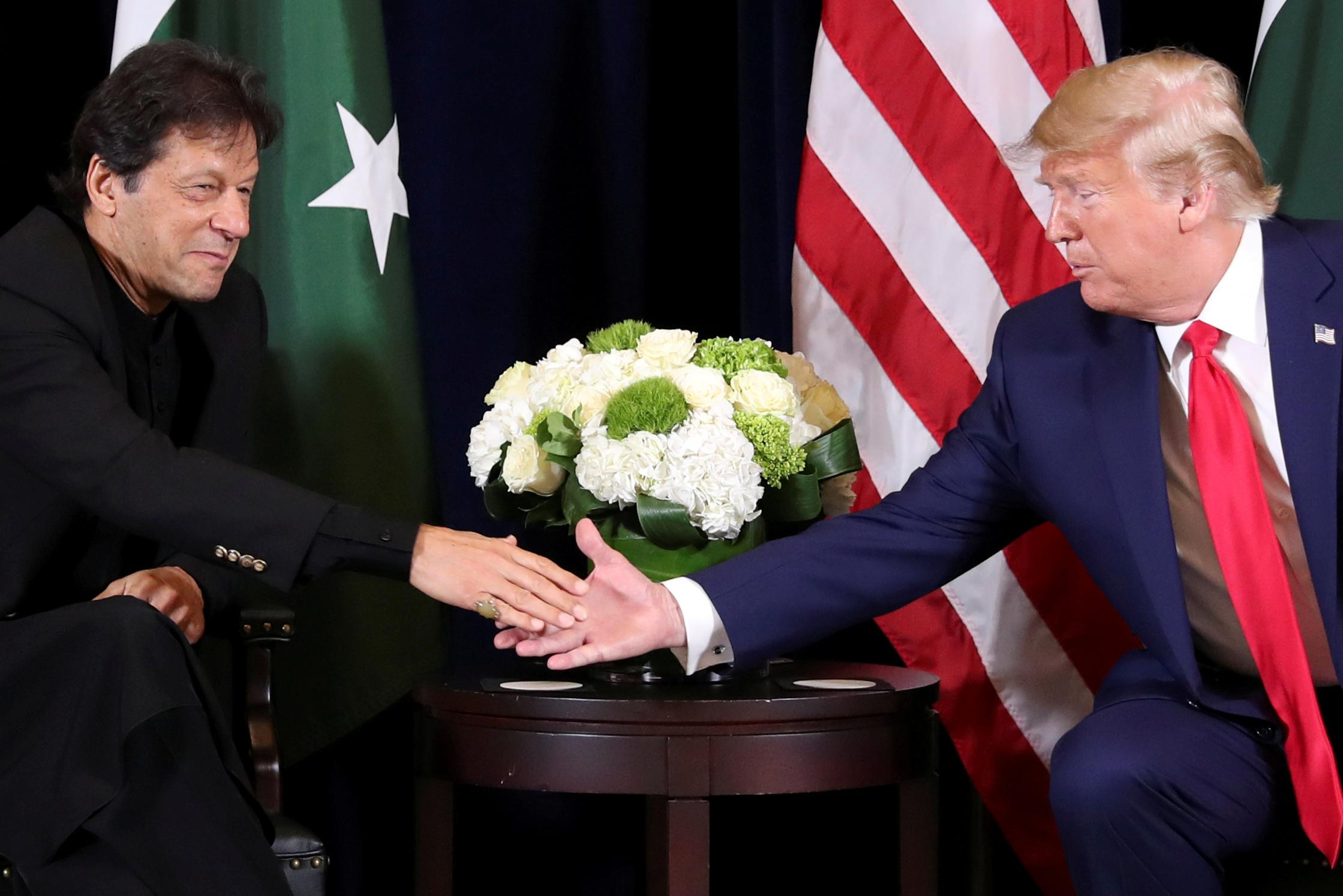 Trump hopes India and Pakistan 'come together' on Kashmir, Khan...