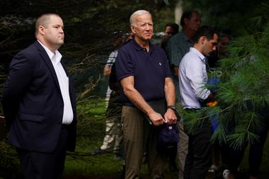 FILE PHOTO: Former U.S. Vice President and Democratic presidential hopeful...