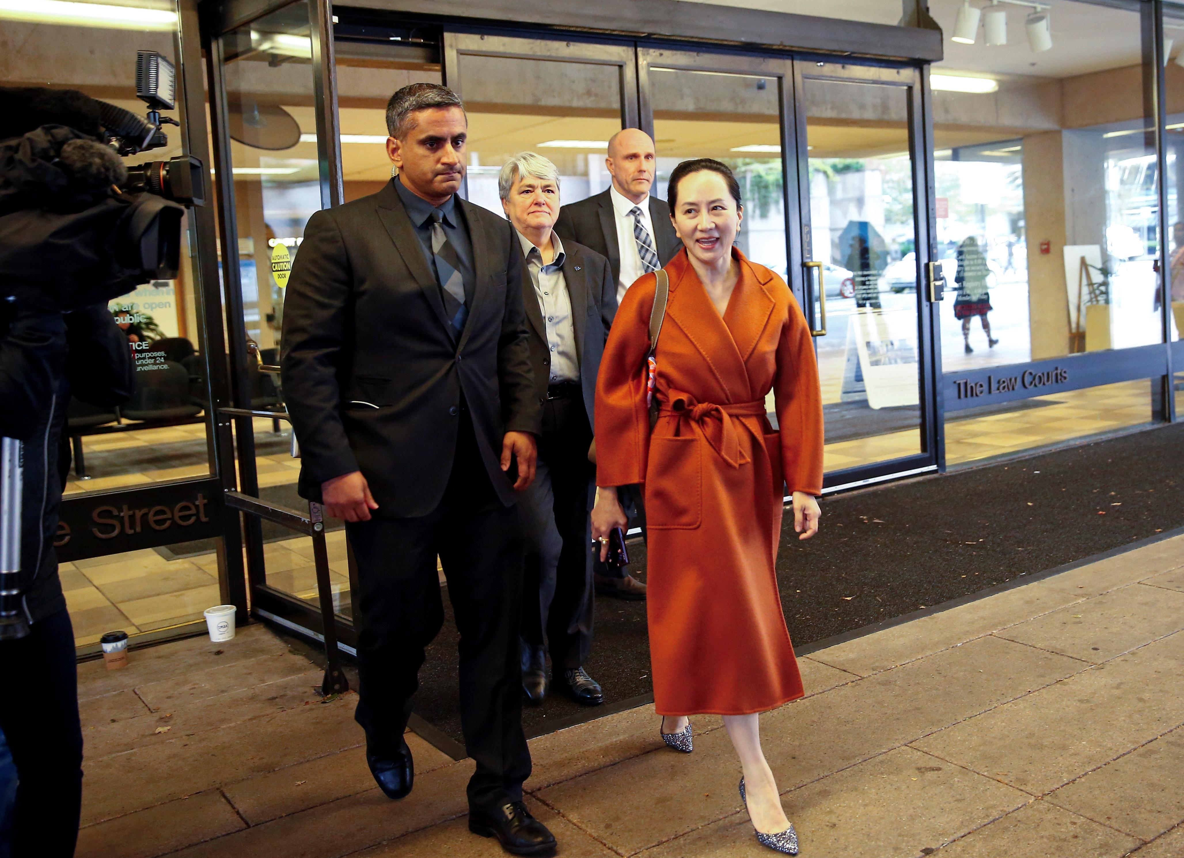 Canada says officials did not act improperly when Huawei CFO was...