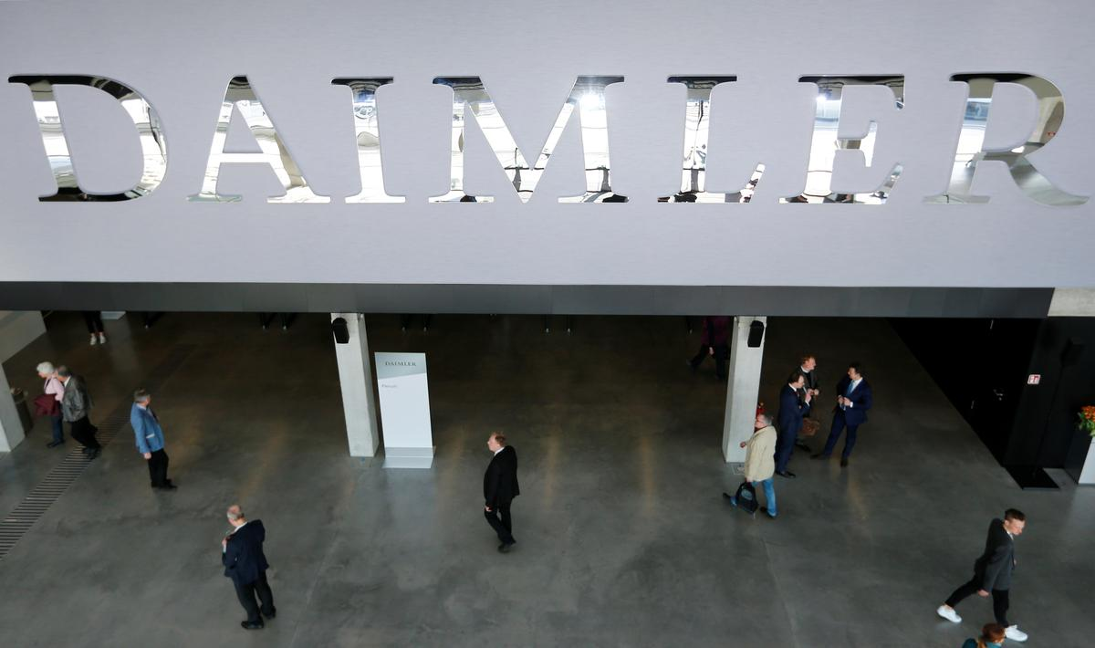 Duitse aanklaers is Daimler byna $ 1 miljard boete vir die oortreding van dieselreëls