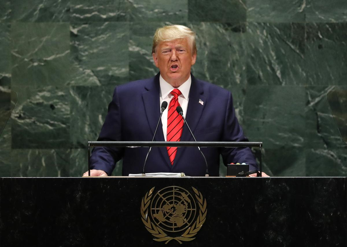 Trump accuses Iran of 'blood lust' in U.N. speech but says there is path to peace
