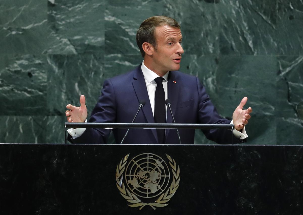 Frankryk, Brittanje doen 'n beroep op die Rouhani van Iran om Trump: die Britse perspoel te ontmoet