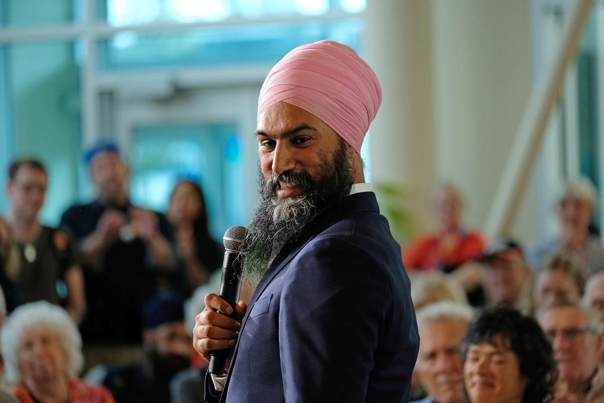 Kanada se Singh kan party herleef met diepe reaksie op Trudeau Blackface-skandaal