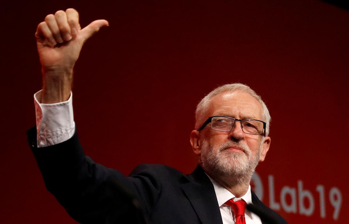 UK Labour leader Corbyn says priority is preventing no-deal Brexit