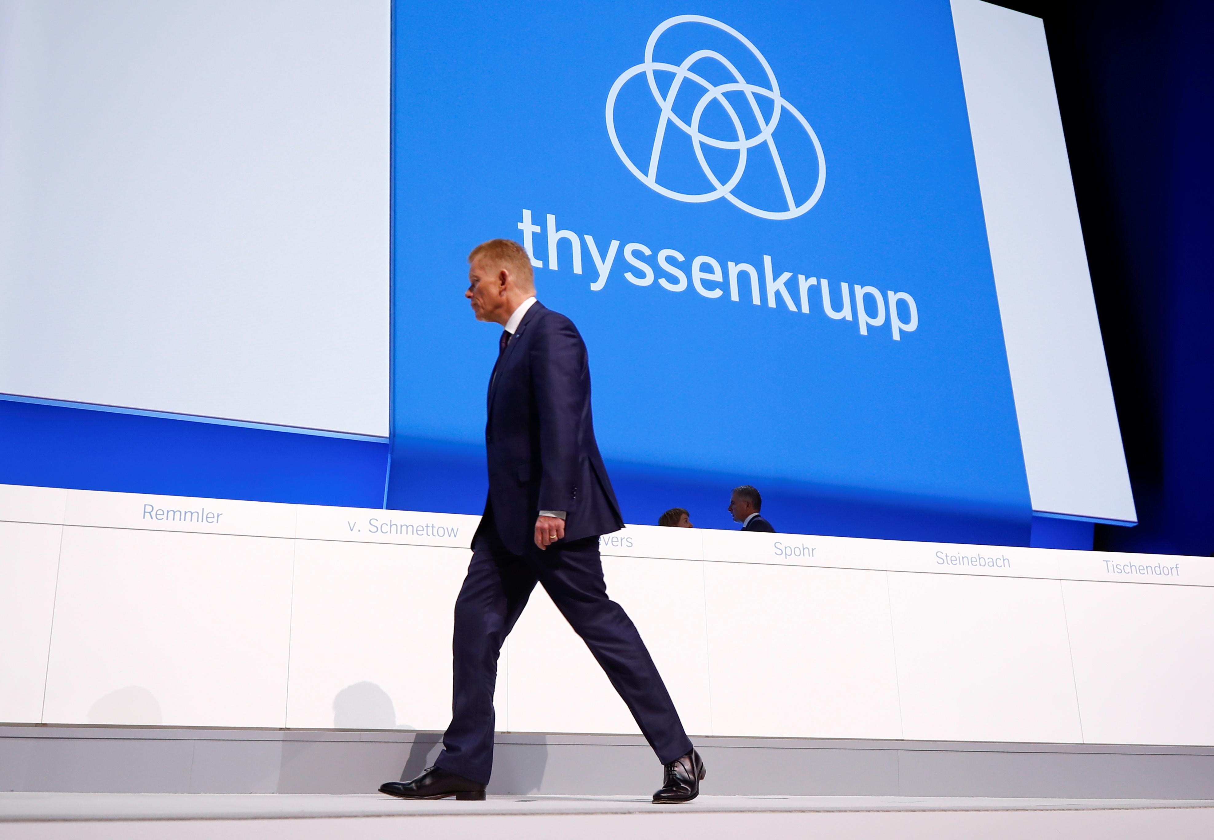 Thyssenkrupp faces more turmoil as CEO Kerkhoff set to leave