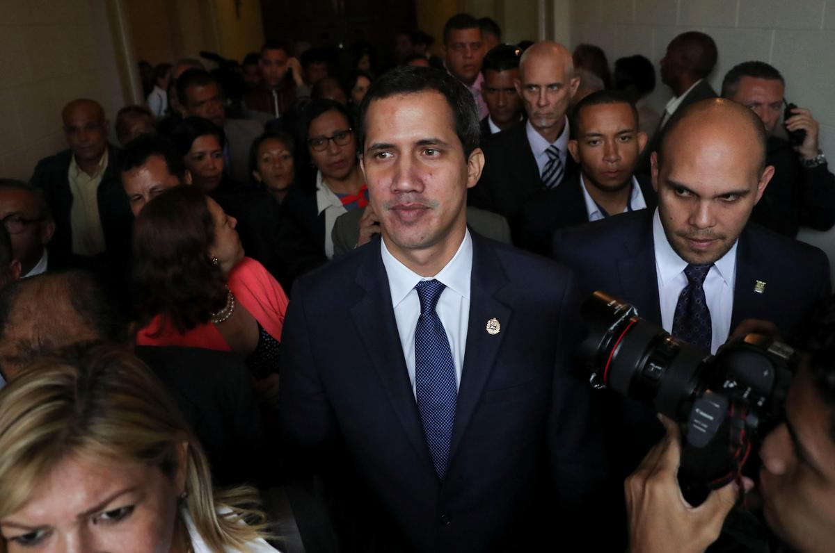 Die opposisie van Venezuela kry Trump 'n hupstoot by die VN, hou Europa steeds onder druk