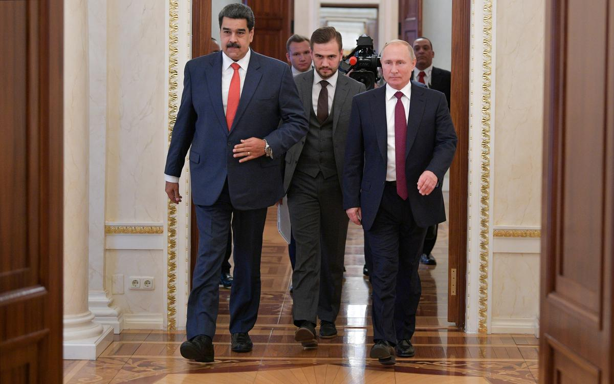 Maduro, Venezuela, het nie nuwe lenings met Poetin bespreek nie: Kremlin