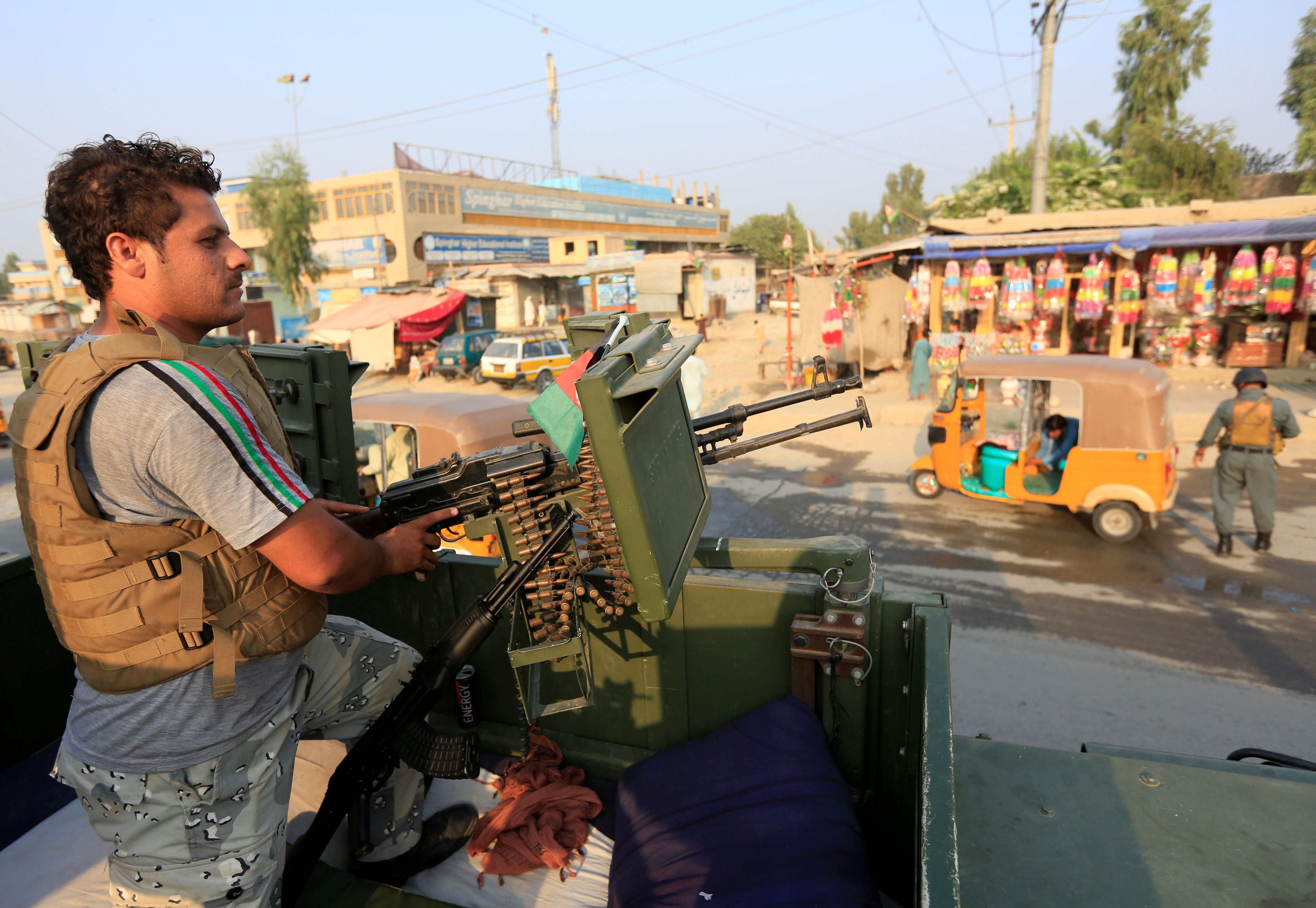Afghanistan bolsters security as Taliban threatens presidential poll