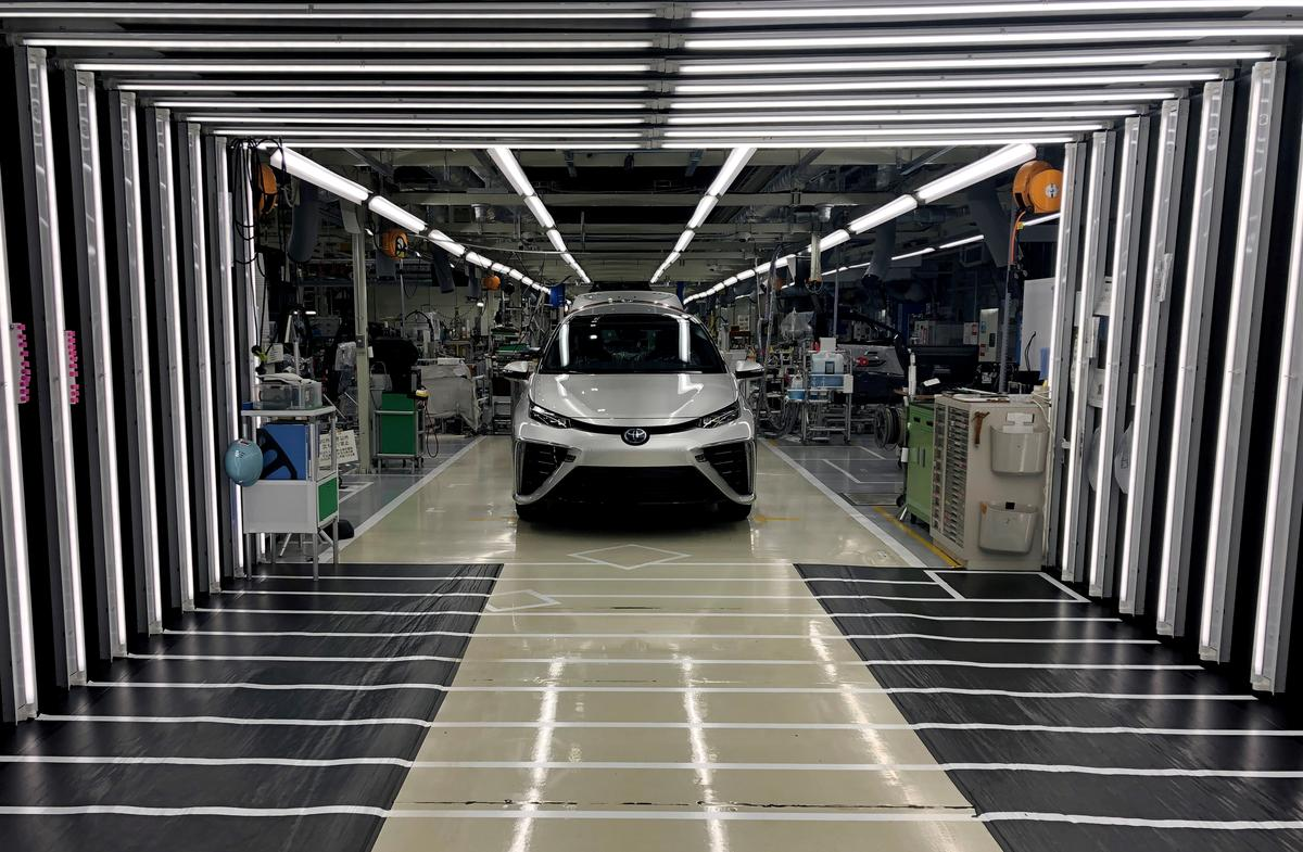 Toyota ontwikkel motors met waterstofbrandstof saam met die Chinese vennote FAW, GAC