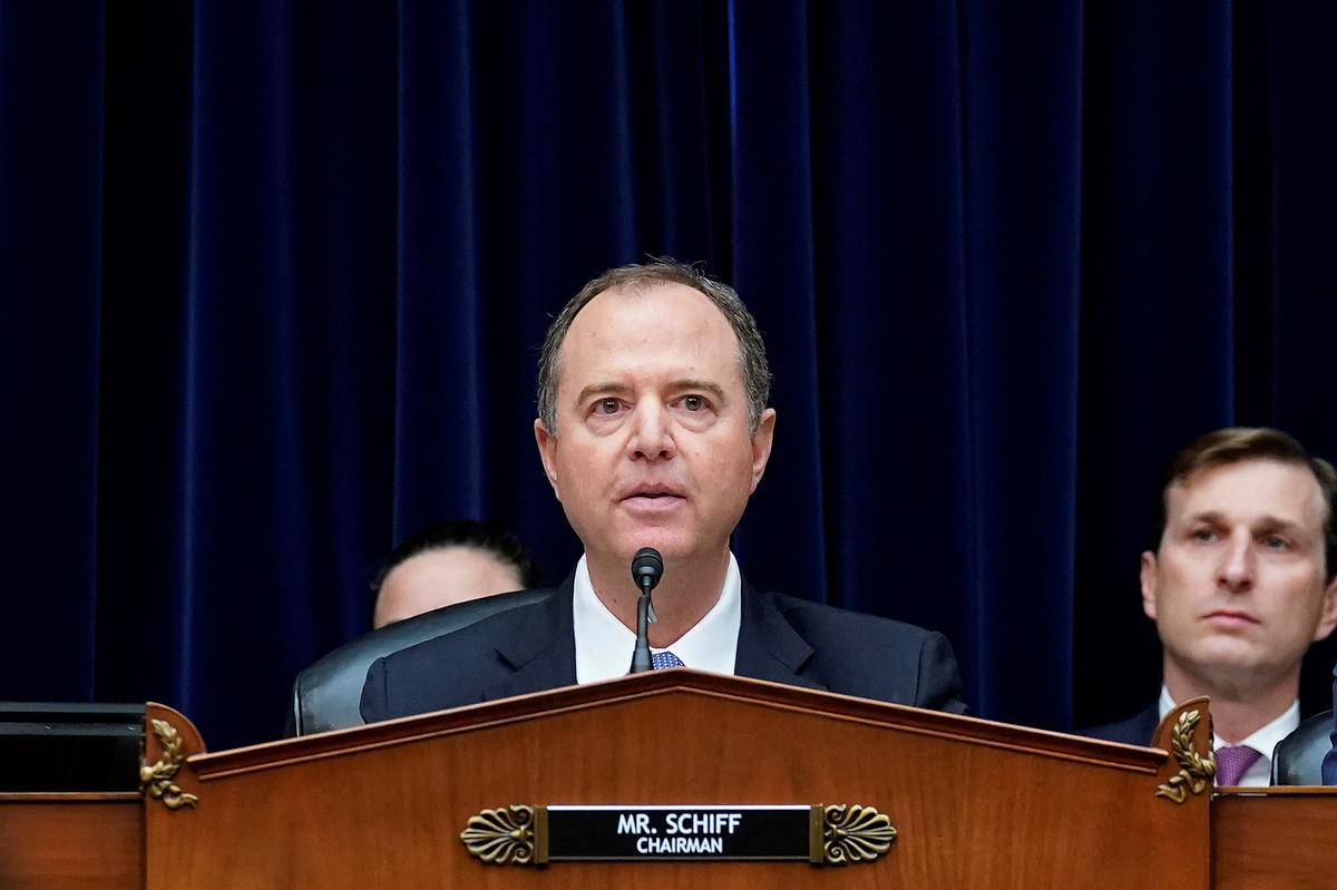 Schiff says complaint lays out scheme to use leverage of U.S....