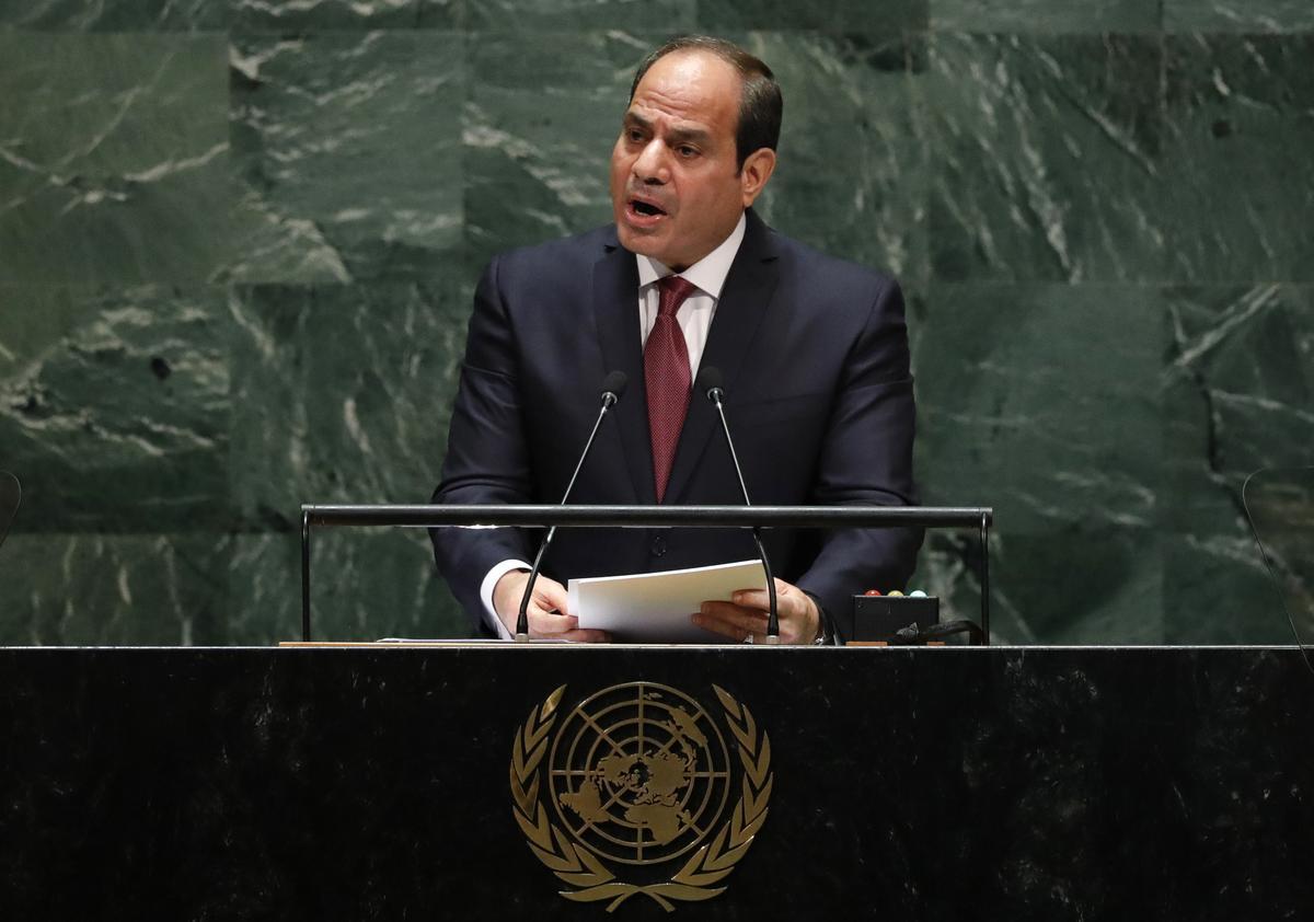 Sisi van Egipte speel herhaalde protesoproep soos sekuriteit verskerp