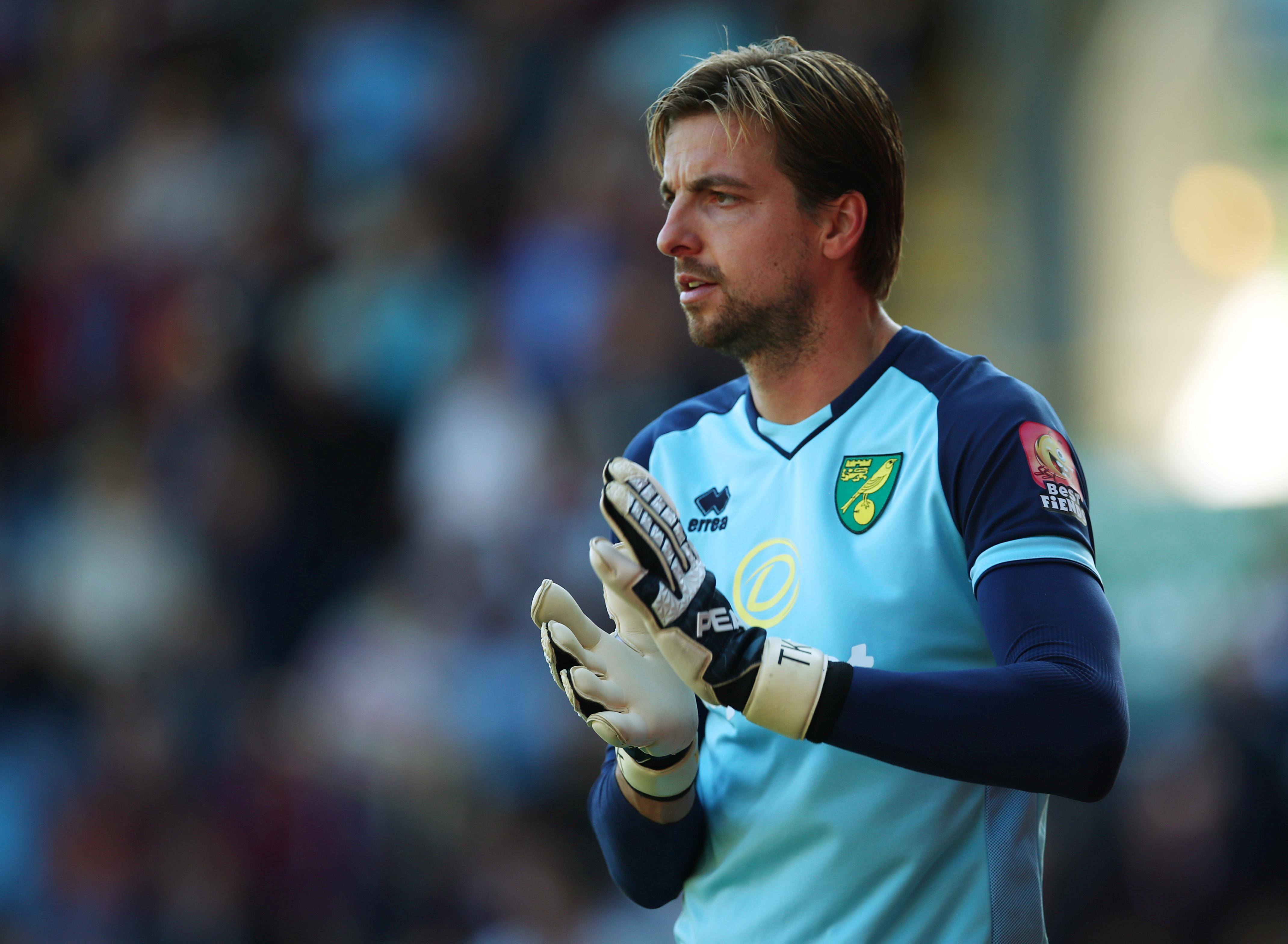 Norwich suffer Krul blow as goalkeeper is ruled out for Palace trip