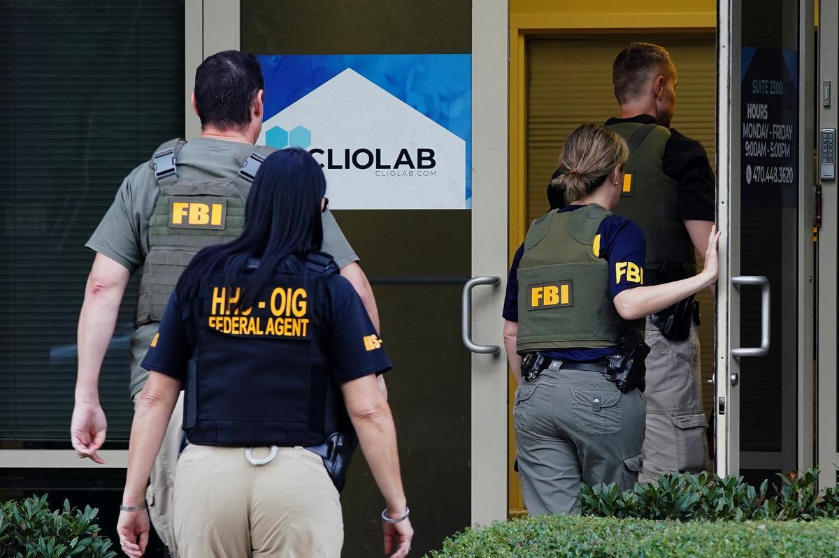 U.S. agents raid genetic testing labs, charge 35 in Medicare fraud probe