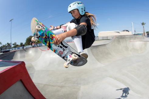 Sky has no limits as 11-year-old British prodigy eyes Tokyo Olympics