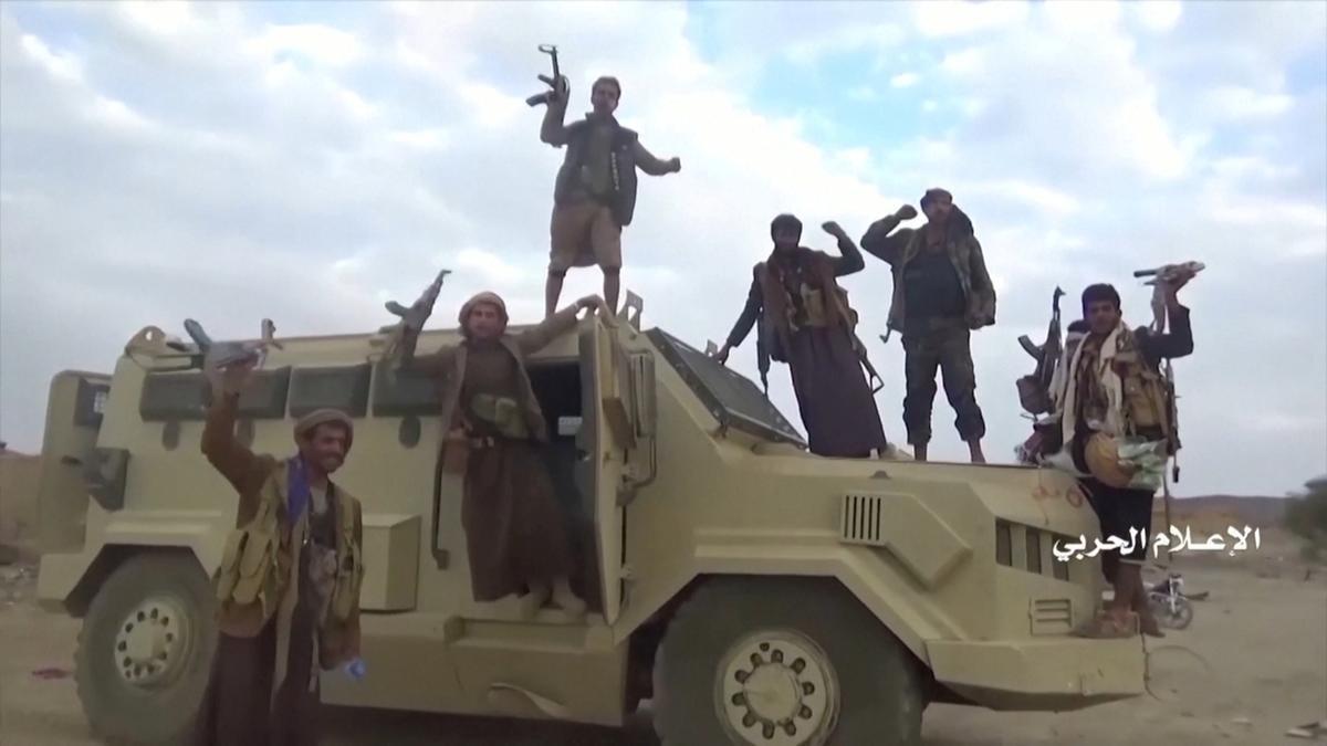 Jemen se Houthi's sê beeldmateriaal toon aanval op die Saoedi-grensfront