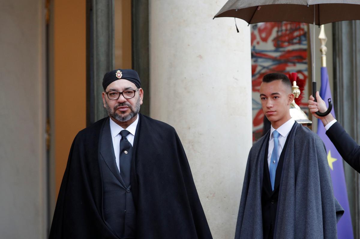 Marokkaanse koning siek, gedwing om Chirac-begrafnisdiens te mis