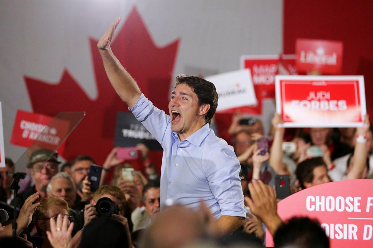 Kanada se liberale beloof nuwe besteding, nog vier jaar van tekorte