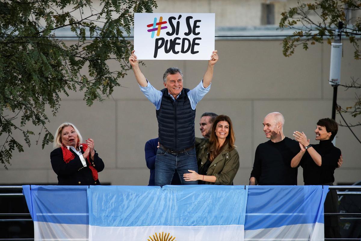 'Ja ons kan!' sê Argentinië se Macri as die stem wag. Nie waarskynlik nie, sê almal