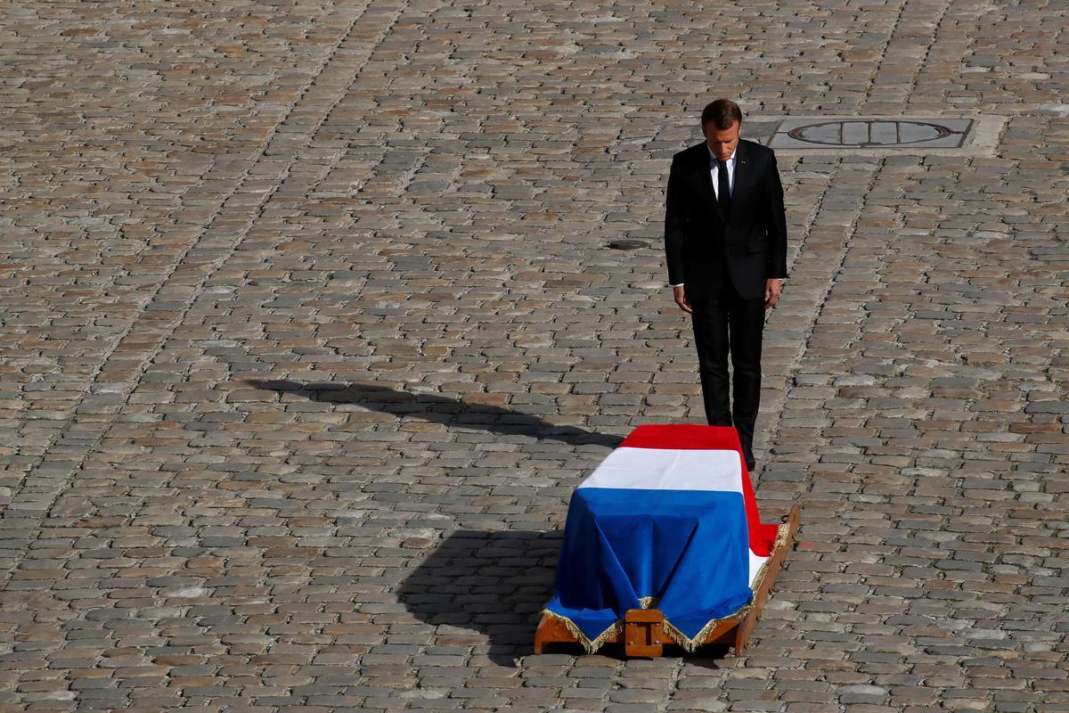 Frankryk neem afskeid van oudpresident Chirac