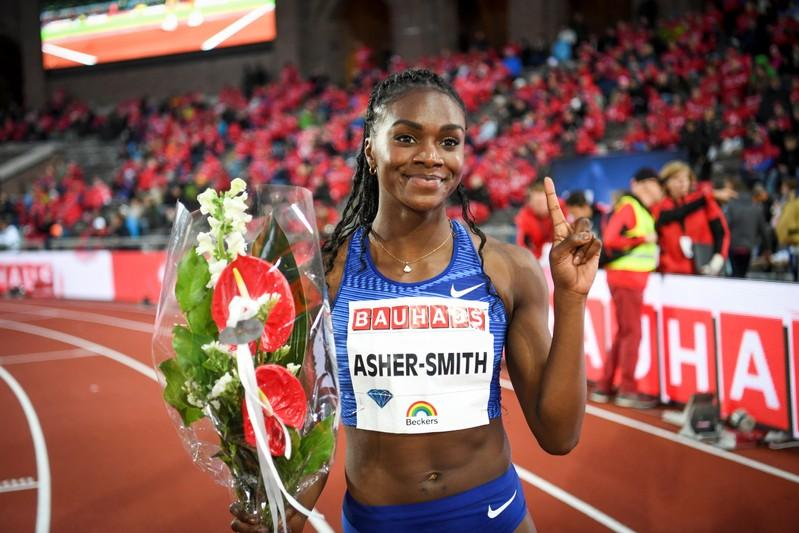 Asher-Smith leads way as 200m medal contenders disappear