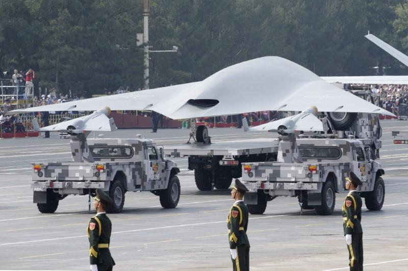 China showcases fearsome new missiles to counter U.S. at military parade