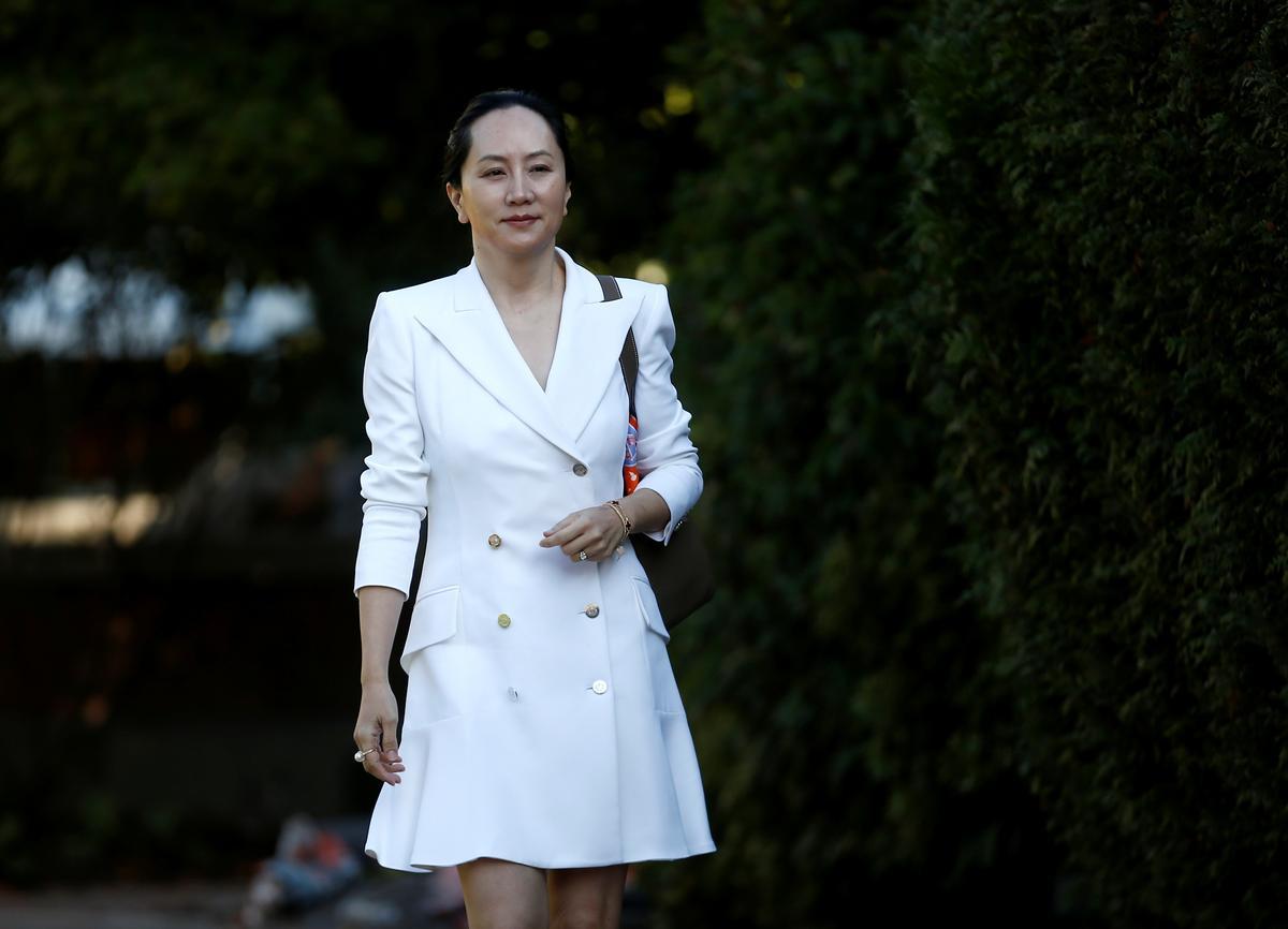 Huawei CFO se telefoonkodes is aan die polisie in Kanada gedeel in 'fout': dokument