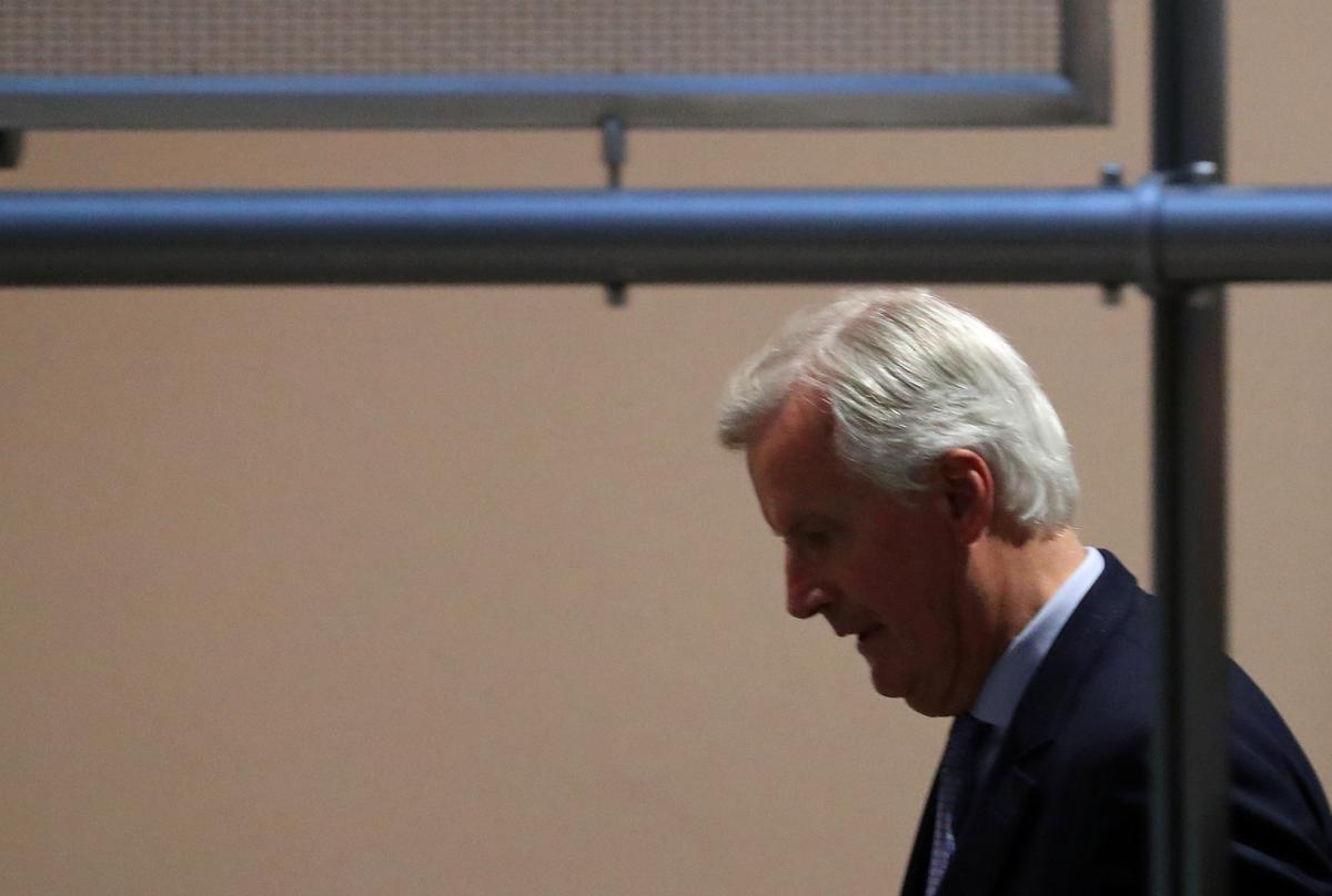 Barnier sê die Britse voorstelle is vordering, maar meer werk is nodig