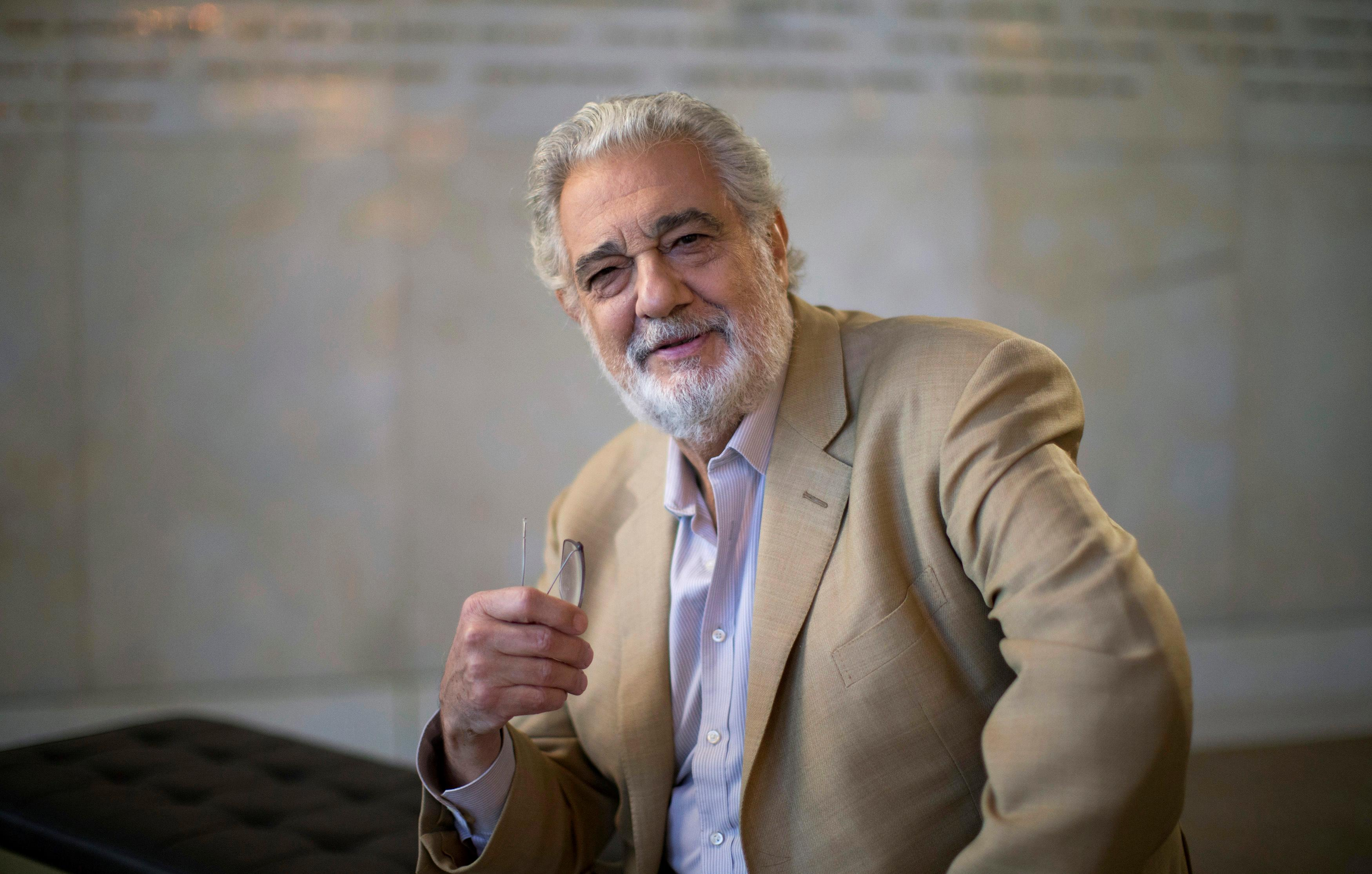Placido Domingo resigns from LA Opera leadership
