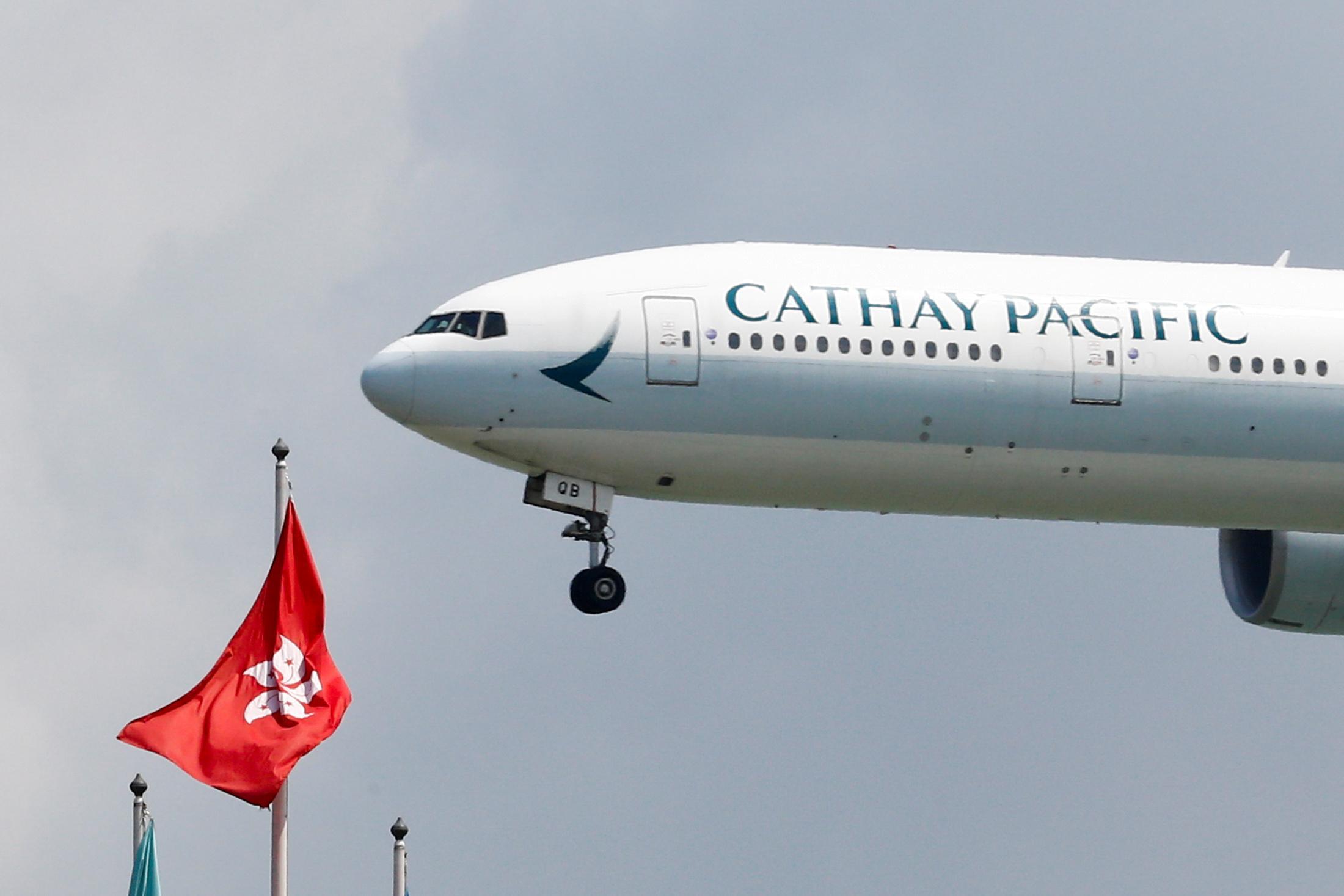 As protests rack Hong Kong, China watchdog has Cathay staff...