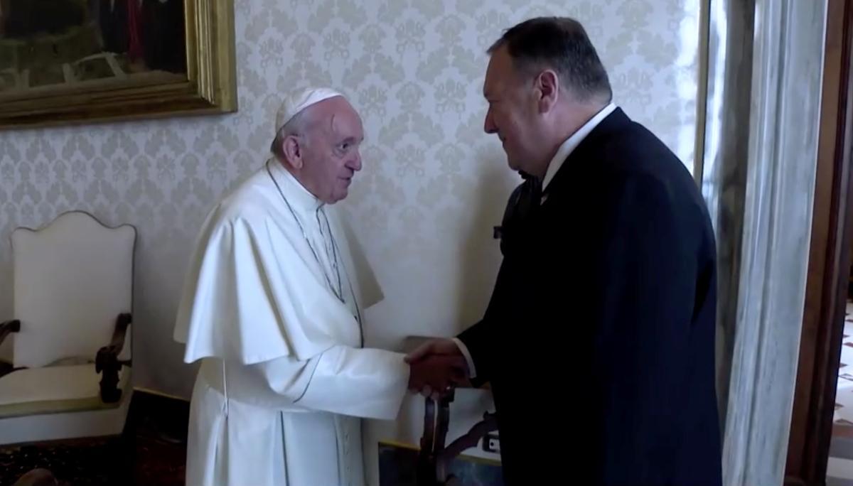 Pompeo, pous Francis dring aan op godsdiensvryheid in Midde-Ooste, elders