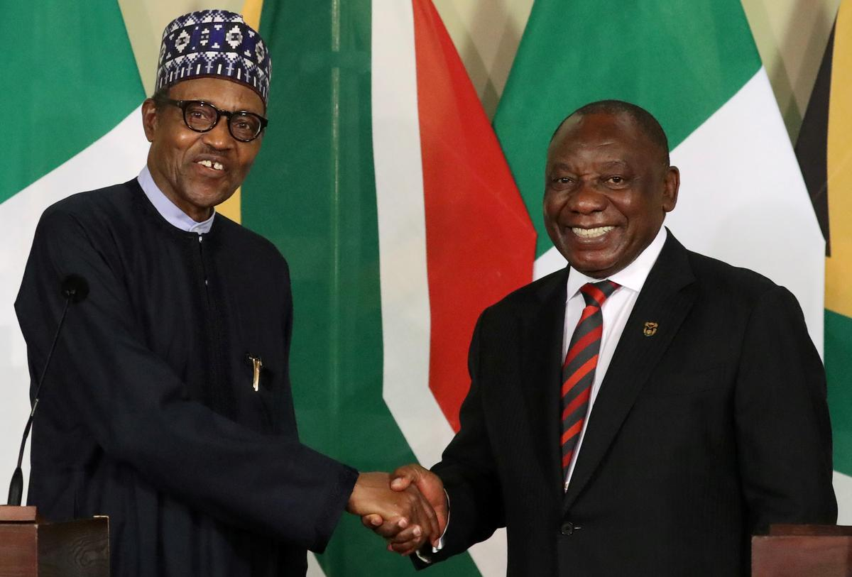 South Africa, Nigeria mend relations and agree trade deals