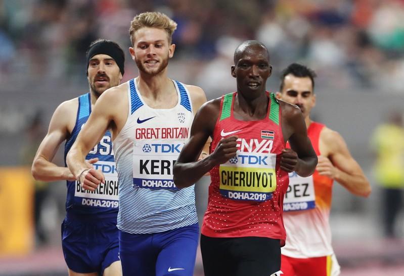 Cheruiyot through after rough 1500 meters race