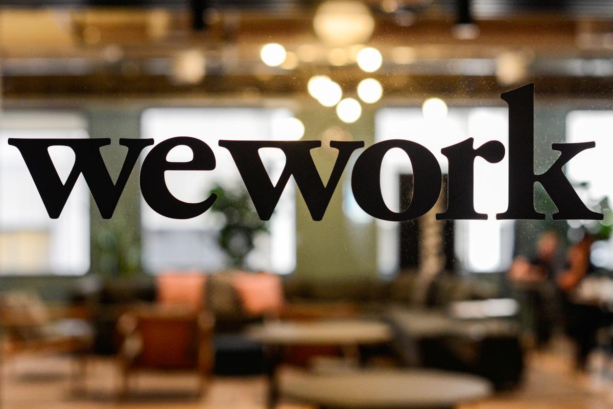Die kort belangstelling in WeWork-effekte is rekordhoog