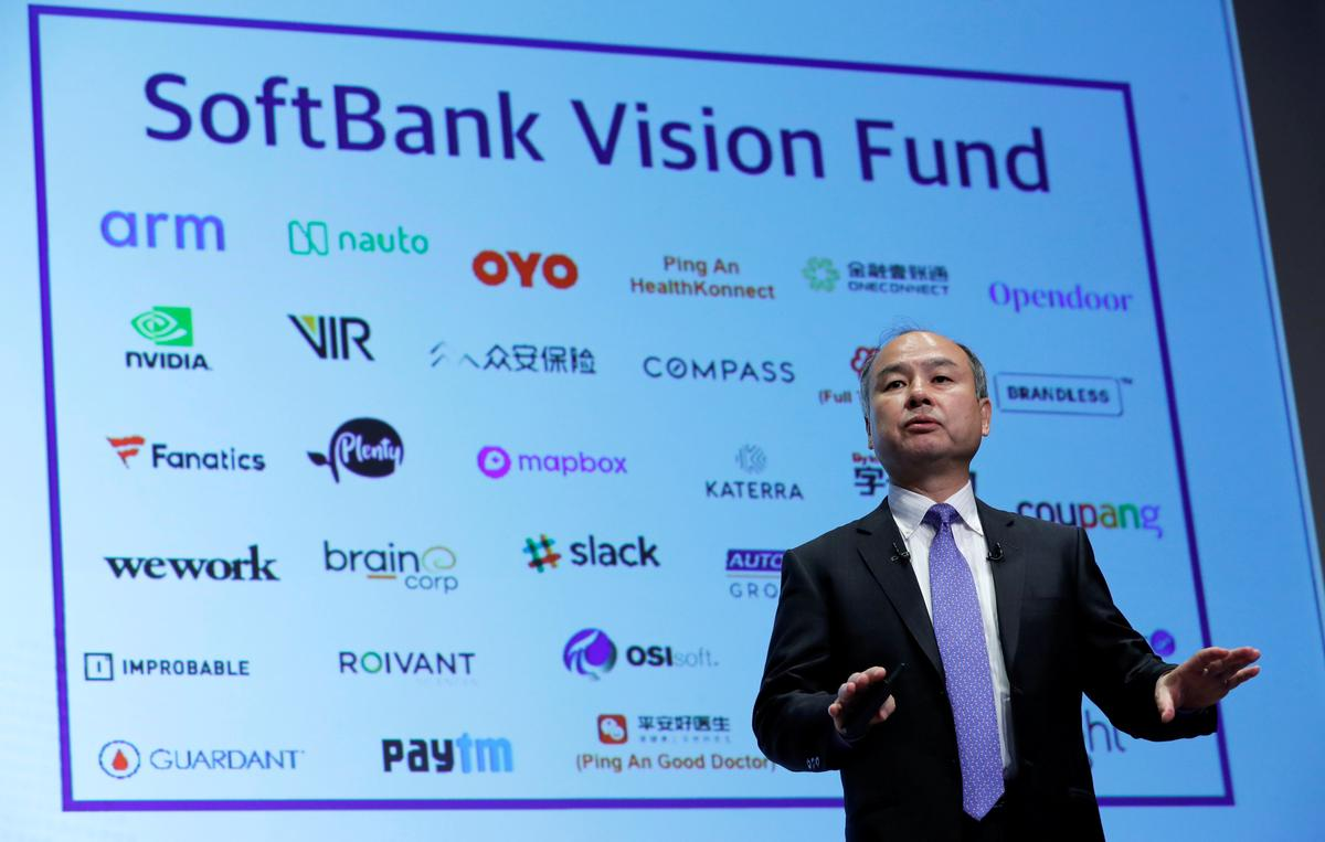 Softbank's plans for second mega-fund hit by WeWork debacle