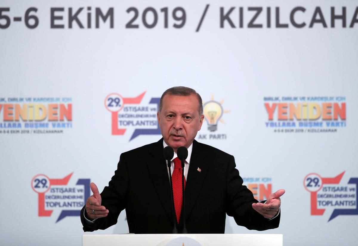 Erdogan sê Turkye sal militêre operasies in die noordooste van Sirië begin