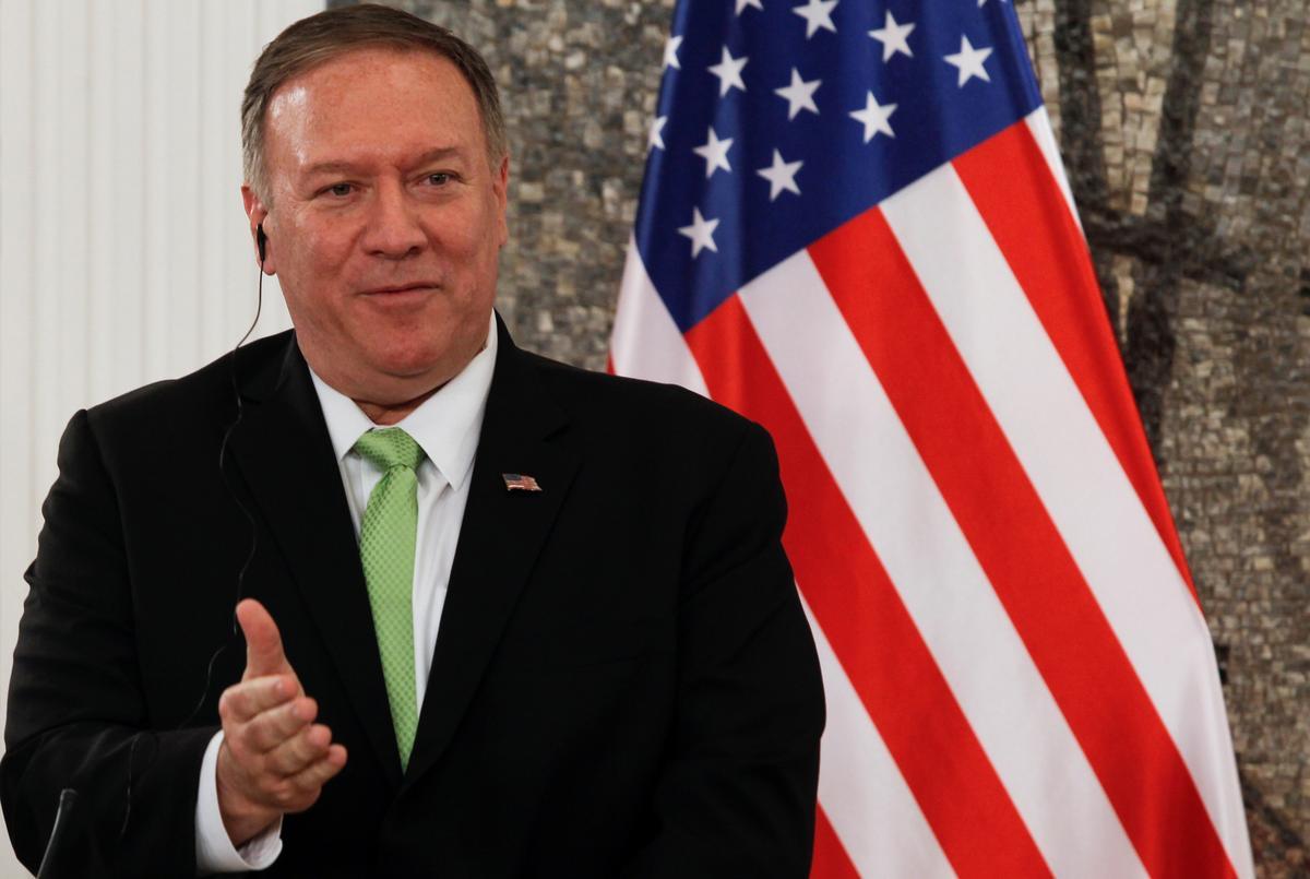 Pompeo sê hy hoop op vooruitgang in gesprekke met Noord-Korea