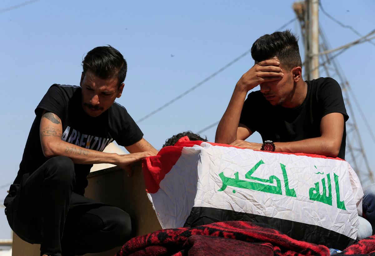 Dodelike botsings weer opgevlam in Irak, vyf dood in die hoofstad
