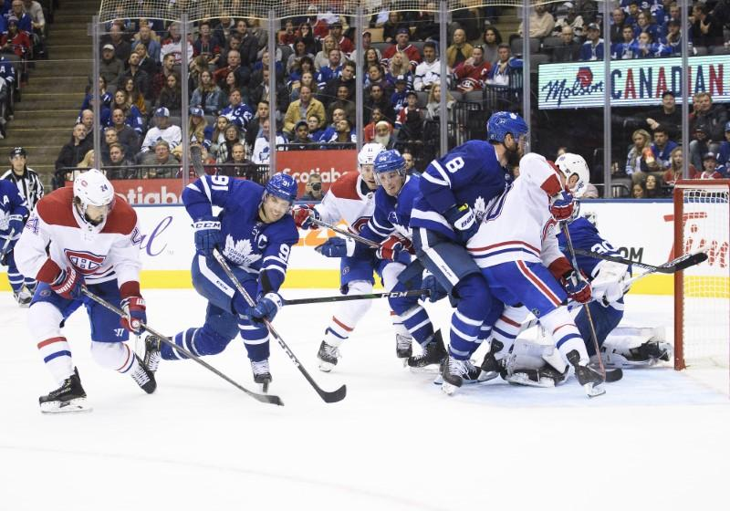 NHL roundup: Habs beat Leafs on wild rally