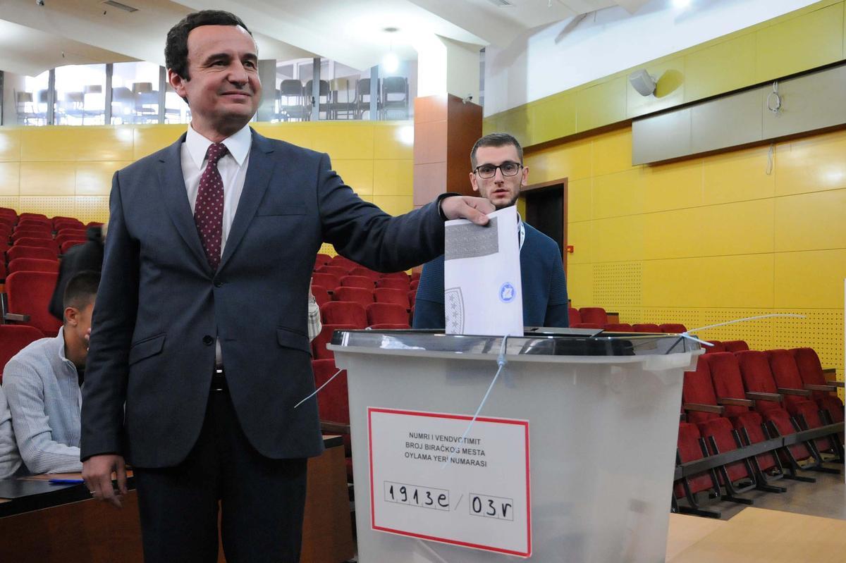 Opposisie Vetevendosje lei Kosovo-peiling: voorlopige resultate