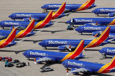 UPDATE 2-Southwest pilots sue Boeing over alleged lost wages from 737 MAX grounding