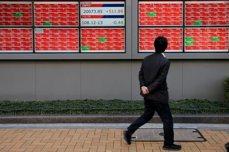 GLOBAL MARKETS-China joins Asian shares in cautious advance ahead of trade talks